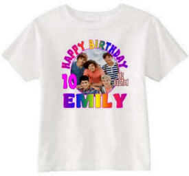 ONE DIRECTION Birthday T-Shirt